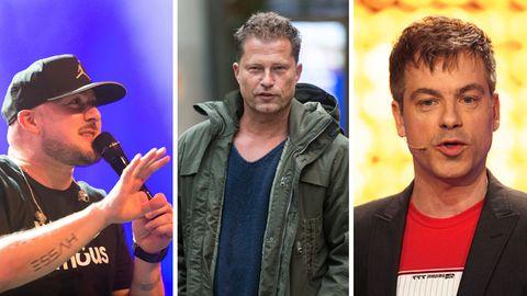 Rapper Kool Savas, Schauspieler Til Schweiger und Comedian Michael Mittermeier springen Xavier Naidoo zur Seite