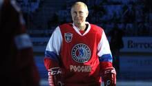 Wladimir Putin äußerte sich am Rande eines Hockeyspiels zum Fall James Comey