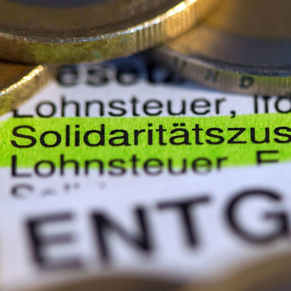 News von heute: Soli wird abgeschafft: Kabinett billigt Pläne von Finanzminister Scholz