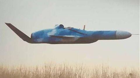 Die Form der Stummelflügel deutet schon auf Flugeigenschaften einesEkranoplans hin.