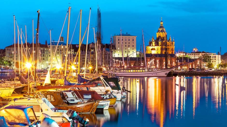 Summer in the City: In Helsinki sind die Nächte lang