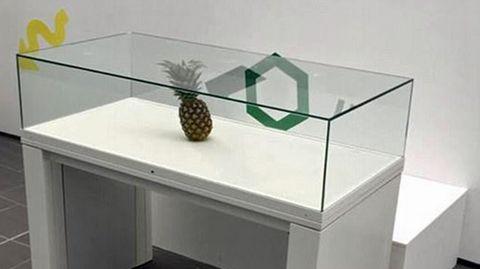 Diese Ananas hat es in die Unsterblichkeit geschafft.