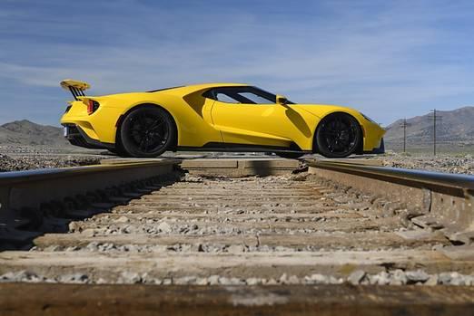 Der Ford GT ist 4,78 Meter lang,...