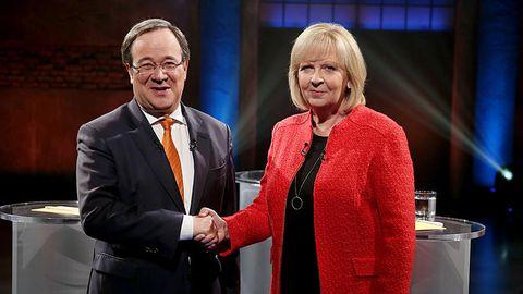 Armin Laschet hat in Umfragen mit seiner CDU Hannelore Krafts SPD vor der NRW-Wahl überholt.