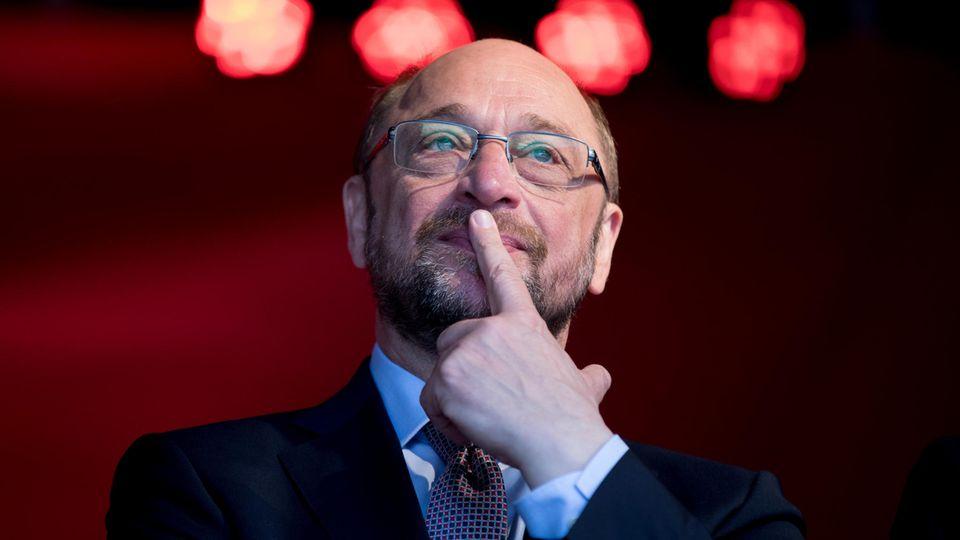Vor SPD-Kanzlerkandidat Martin Schulz stehen schwere Wochen