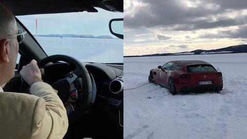Wintererprobung am Polarkreis: Winterparadies