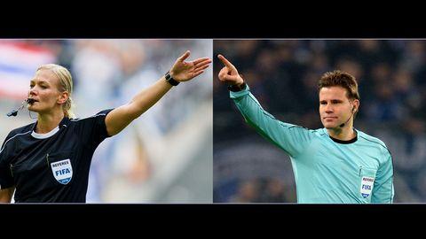 Champions League - Finals - Felix Brych - Bibiana Steinhaus