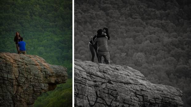 Wunderbare Bilder - aber mit dem falschen Paar.