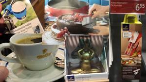 Collage aus verschiedenen Tchibo-Artikeln