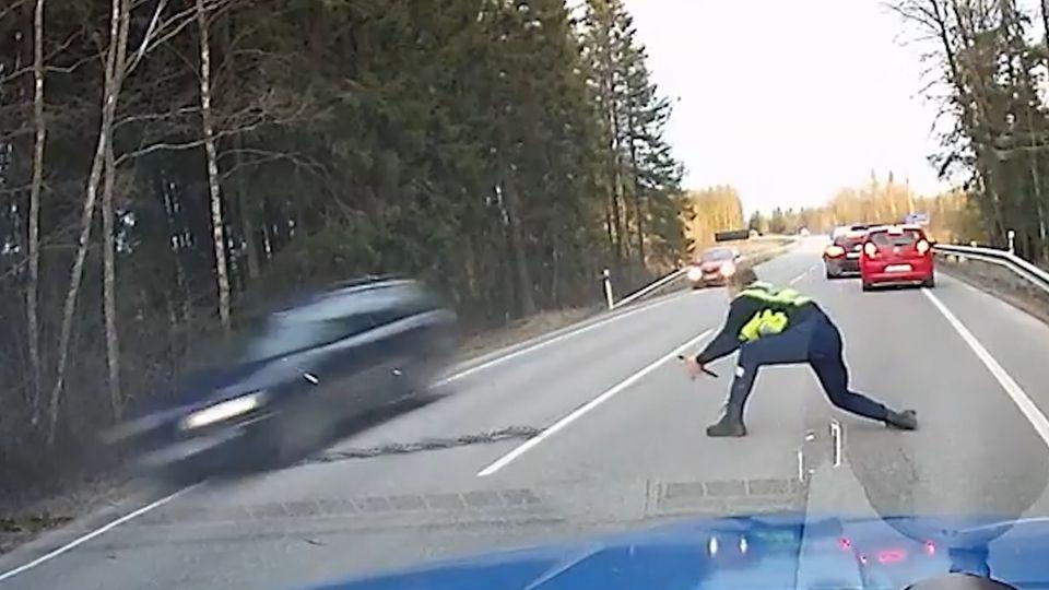 Polizeieinsatz in Estland