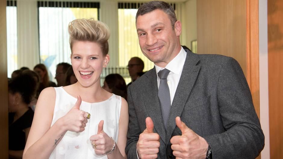 Levina und Vitali Klitschko
