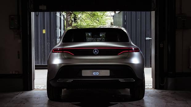 Mercedes Concept EQ - Design aufs nötigste beschränkt