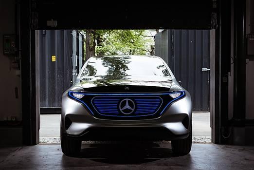 Mercedes Concept EQ - Licht an!