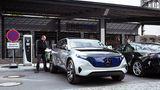 Mercedes Concept EQ - hier wird geladen
