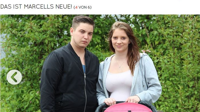 Der 19-jährige Marcell hat bereits drei Kinder, seine neue Freundin Vanessa erwartet in Kürze das nächste