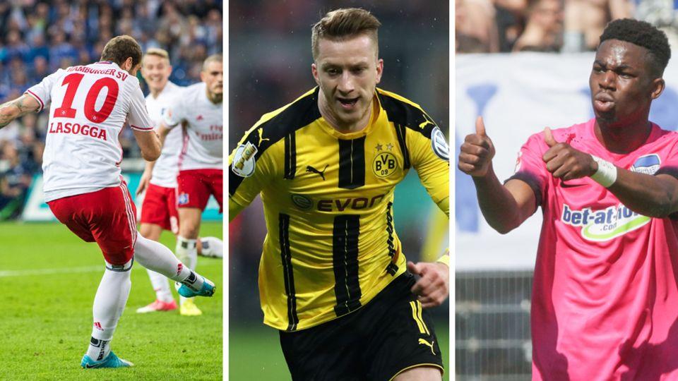 Der HSV hat die schlechtesten Karten, die Relegation zu meiden. Der BVB und Hertha die besten auf Champions und Europa League