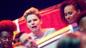 Levina weint beim ESC