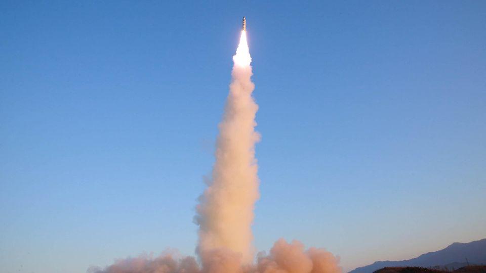 Der erneute Raktentest sorgt für Spannungen zwischen den USA und dem Regime in Nordkorea (Archivbild)