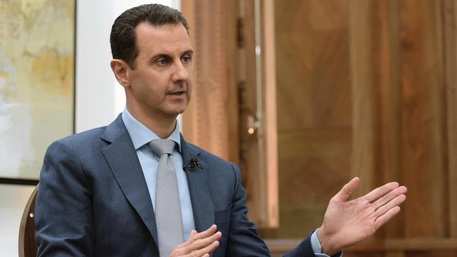 Der syrische Machthaber Baschar al-Assad wird von mehreren westlichen Regierungen hinter dem Giftgasangriff im April vermutet