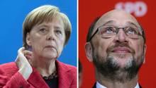 Angela Merkel von der CDU hat das Momentum wieder auf ihrer Seite. SPD-Mann Martin Schulz erlitt die dritte Schlappe in Folge.