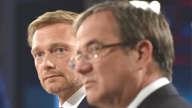 NRW-Wahl Christian Lindner Armin Laschet