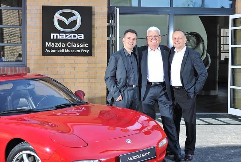 Mazda Museum Augsburg Eröffnung 2017