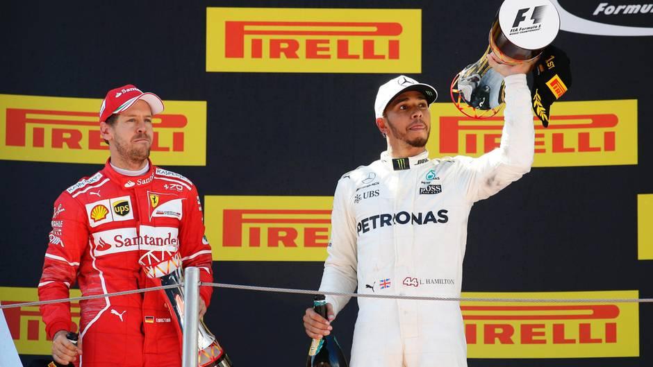 Sebastian Vettel und Lewis Hamilton: Die Formel 1 ist so spannend wie lange nicht.