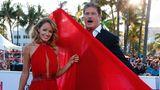 David Hasselhoff mit seiner Ehefrau Hayley Roberts