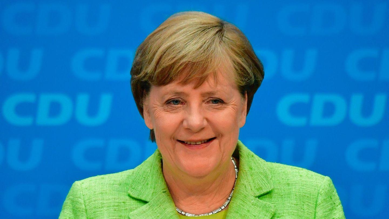 Bundeskanzlerin Angela Merkel freut sich - wie hier nach der Wahl in Schleswig-Holstein - immer erst einen Tag später öffentlich über die Wahlerfolge der CDU bei Landtagswahlen