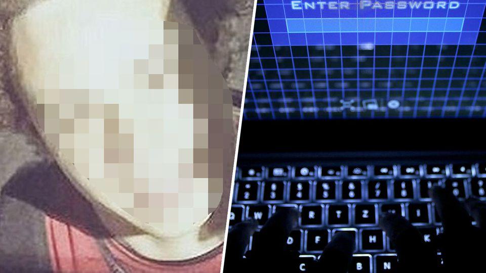 Ein unkenntlich gemachtes Porträt des 22-jährigen Briten, der den Wannacry-Trojaner stoppte