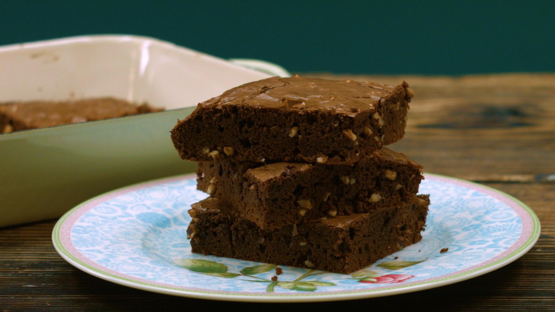 Nuss Nougat Brownie Dieses Kuchen Rezept Gelingt Garantiert Stern De
