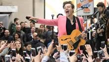 Harry Styles von One Direction ist jetzt solo unterwegs