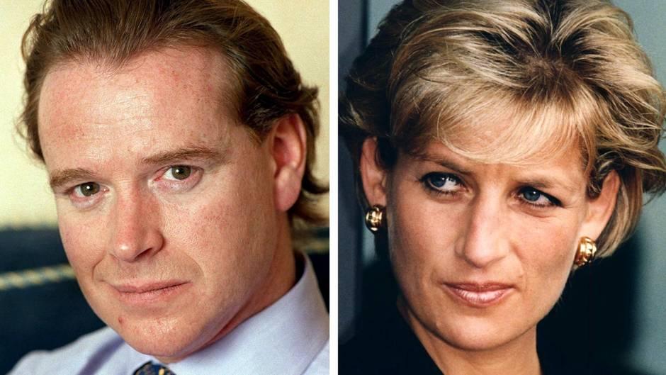 James Hewitt, Prinzessin Diana