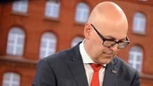 Torsten Albig am Wahlabend: Jetzt tritt der SPD-Politiker zurück.