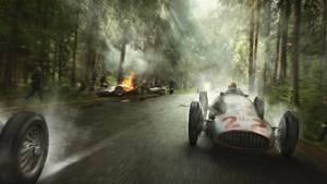 25. Juni 1939. Francochamps, Belgien. Mercedes W154.
