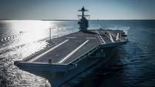 Probleme mit dem neuartigen Startsystem machen der USS Gerald R Ford zu schaffen