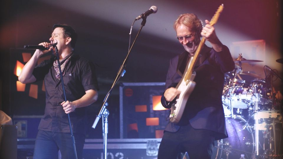 Mike Rutherford und seine Band