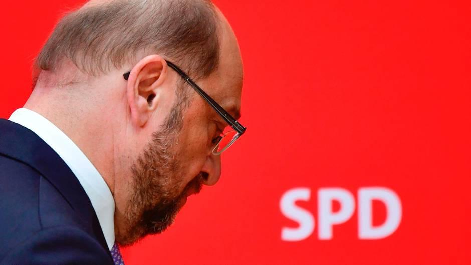 Vom Schulz-Hype ist nach drei Wahlniederlagen der SPD in Folge nichts mehr übrig