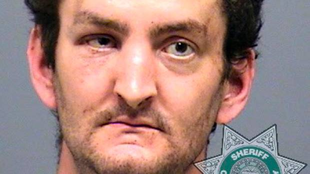 Der mutmaßliche Muttertags-Mörder von Oregon: Joshua Lee Webb in einem Foto des Sheriffs von Clackamas County