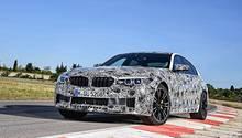 Auf der Rennstrecke ist der BMW M5 ebenso wie auf der Straße zuhause.