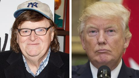 Michael Moore, Donald Trump