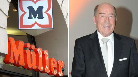 Erwin Müller, 84, Drogeriekönig, Milliardär