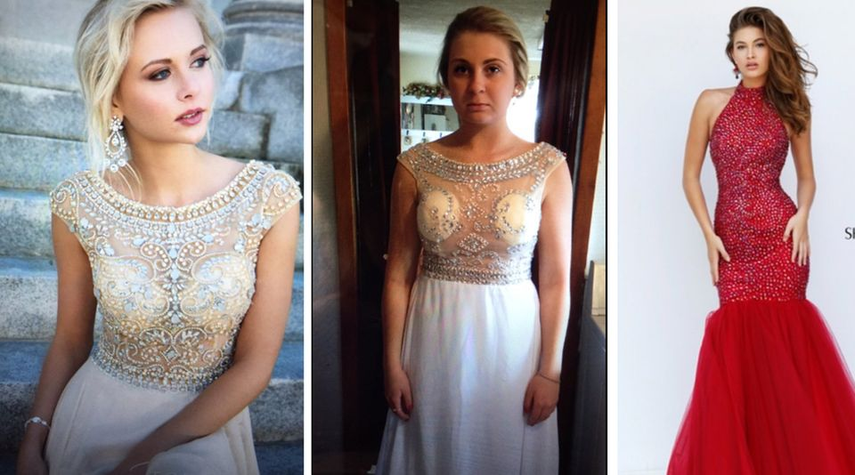 Billigmode aus dem Netz: So ruinieren Schrott-Kleider aus China den Abschlussball