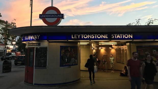U-Bahnhof Leytonstone in London: Hier griff Muhaydin M. den amerikanischen Musiker Lyle Zimmerman an, der auf dem Weg zu einem Auftritt war