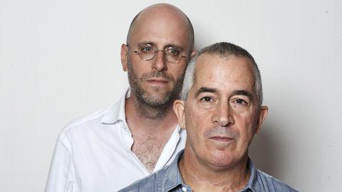 Lyle Zimmerman mit stern-Autor Malte Herwig in London