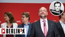 Noch verschließt Martin Schulz den Blick nac