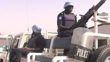 Eine Polizeipatrouille in Gao, im Norden von Mali (Archivbild)