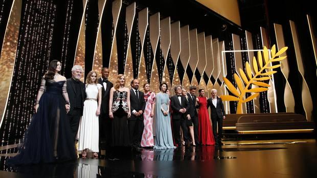 Prominente und Jury der Filmfestspiele Cannes