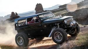 Beim Frühjahrsfest der Jeep-Enthusiasten im Wüstennest Moab im US-Bundesstaat Utah zeigt die US-Geländewagen-Marke drei spektakuläre Konzeptfahrzeuge, die auf die kommende Wrangler-Generation abfärben werden.