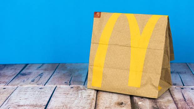 McDonalds Papiertüte
